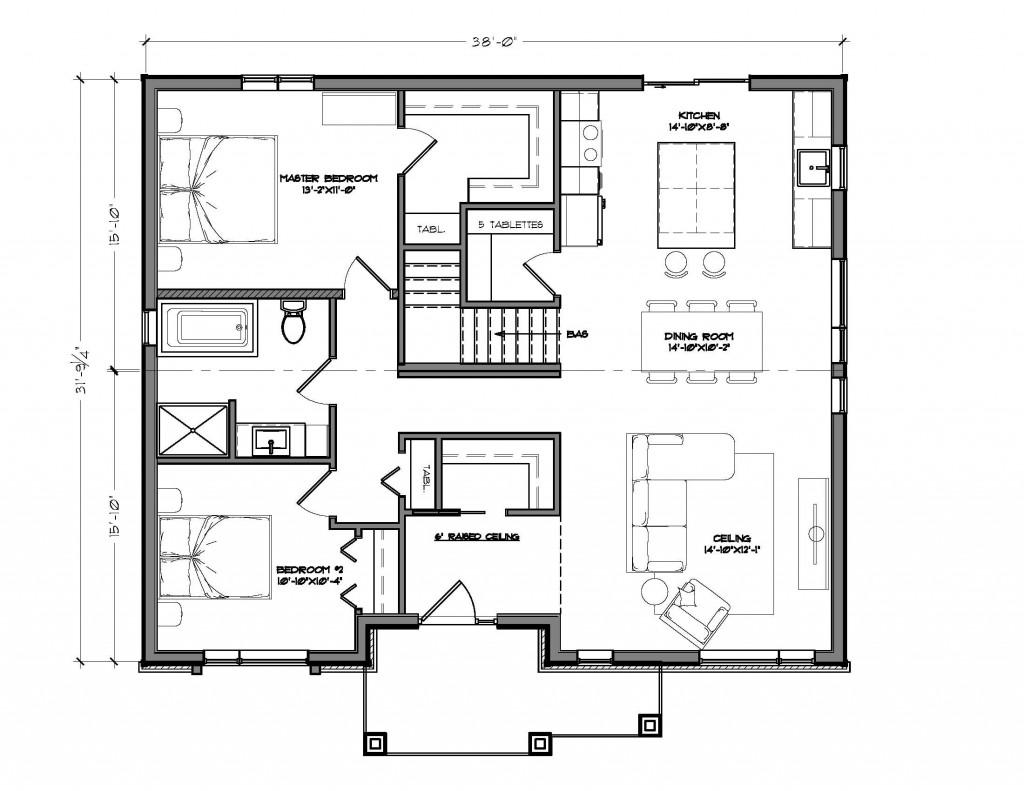 Emma - Plan du rez-de-chaussée